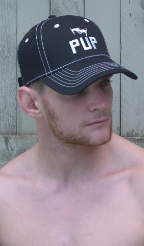 Pup Cap in Black CP26