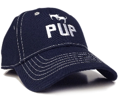 Pup Baseball Cap in Navy Blue CP25