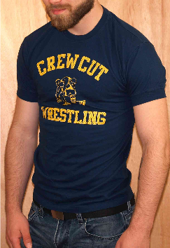 Crew Cut Wrestling Athletic Fit AS37 ajaxx63