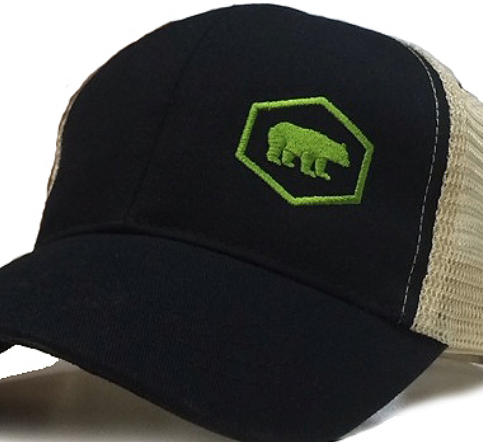 cp20 tech bear cap trucker mesh ajaxx63