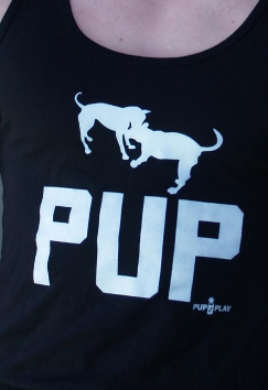 Pup Black Tank Top TK42